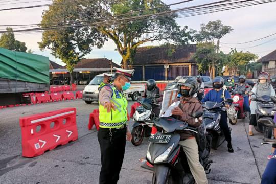 Polres Badung perketat titik penyekatan di perbatasan antar kabupaten
