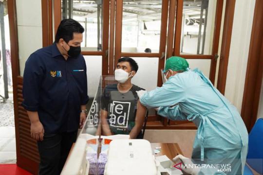 Erick Thohir kembali ingatkan publik pentingnya vaksinasi COVID-19