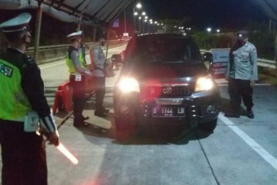Polres Madiun lakukan penyekatan batasi mobilitas saat PPKM darurat