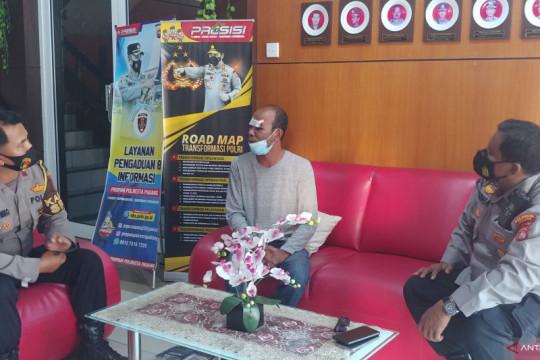 Pengemudi viral di pos PPKM minta maaf ke Polisi di Padang