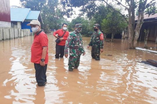 Lima  kabupaten di Kalteng dilanda  banjir