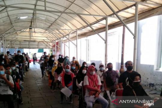 57,5 persen warga di Jakarta Barat sudah divaksin