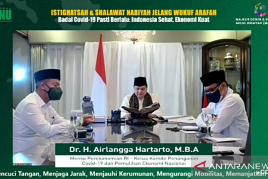 Habib dan ulama mendoakan Airlangga atasi krisis Indonesia