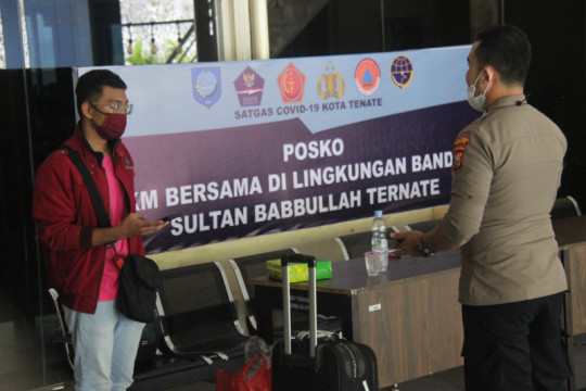 "Seorang penumpang pesawat tujuan Ternate diduga palsukan dokumen ""PCR"""