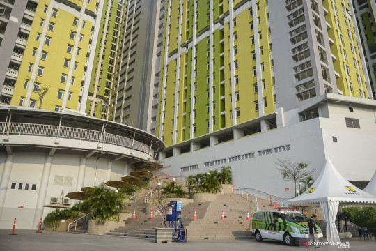 Rusun Pasar Rumput beroperasi rawat pasien COVID-19