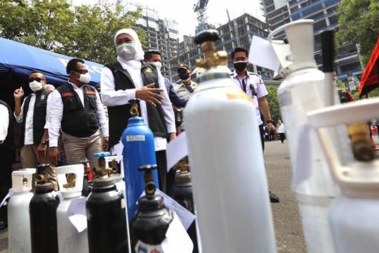 Khofifah siapkan layanan isi ulang oksigen gratis untuk Malang Raya