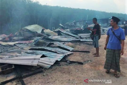 Rumah pekerja Indonesia di Malaysia terbakar