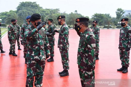 Panglima terima laporan kenaikan pangkat 44 perwira tinggi TNI