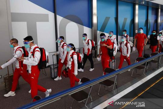 Kedatangan kontingen Olimpiade Tokyo 2020