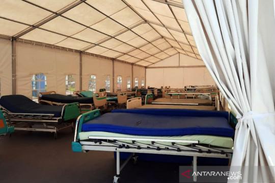 BPBD Jabar bangun tenda serbaguna di RS Rujukan COVID-19