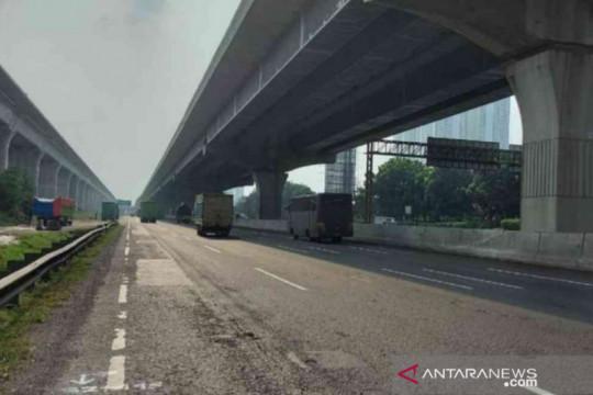 Jasa Marga rekonstruksi Tol Japek Km 32, pengguna diminta berhati-hati