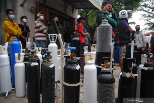 Warga Jawa Barat bisa pinjam tabung oksigen lewat OMAT