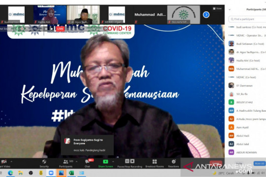 Relawan Muhammadiyah harus menjadi pelopor solusi kemanusiaan