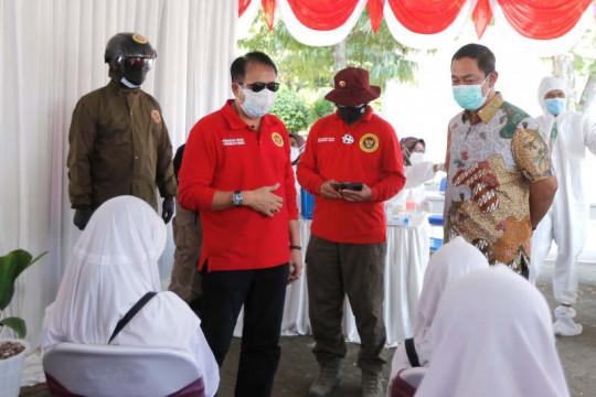 Semarang peroleh bantuan laboratorium bergerak dan vaksin dari BIN