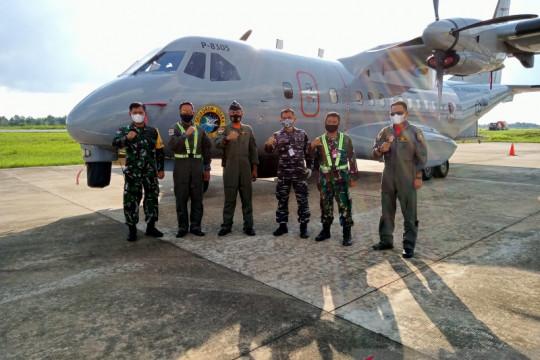 TNI AL kerahkan dua pesawat patroli maritim cari kapal hilang