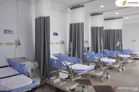 Pertamedika operasikan rumah sakit darurat COVID-19 di Asrama Haji