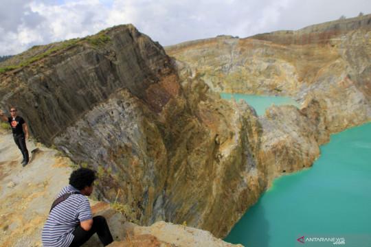 Penutupan objek wisata Danau Kelimutu diperpanjang hingga 3 Agustus