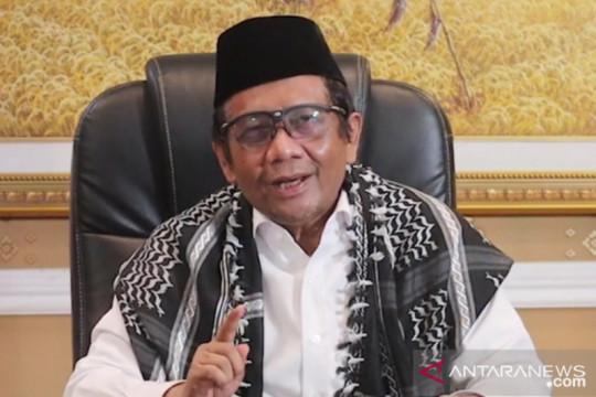 Mahfud MD imbau masyarakat salat Idul Adha di rumah