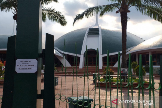 Masjid Al Baitul Amien Jember tiadakan Shalat Idul Adha 1442 H