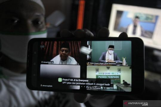 Istighosah dan takbiran Idul Adha secara virtual