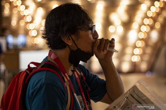 Jurnalis peliput Olimpiade jalani tes PCR harian