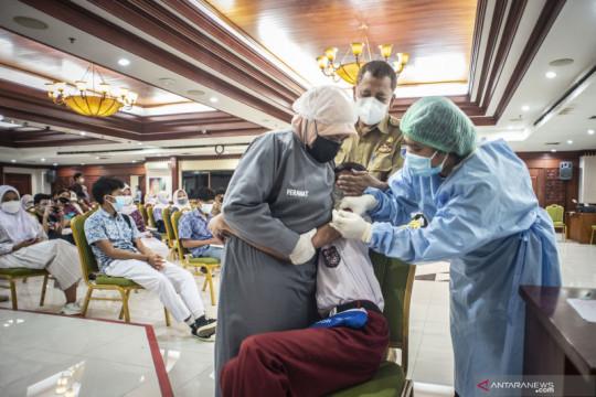 DKI genjot vaksinasi dosis dua untuk remaja