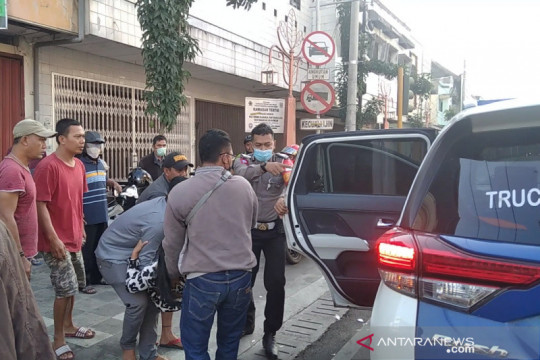 Polisi: Ambulans terlibat laka di Kudus bawa pasien COVID-19 kritis