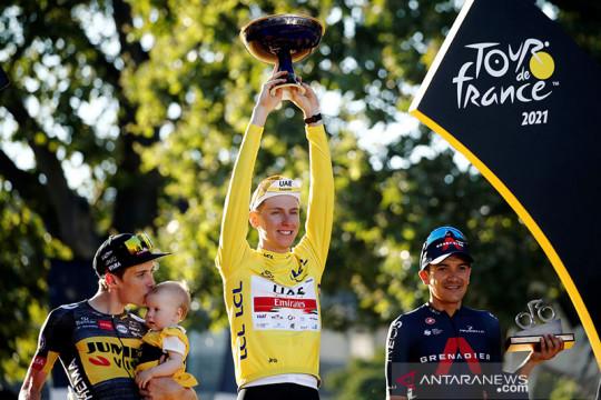 Pogacar juara Tour de France dua kali secara beruntun