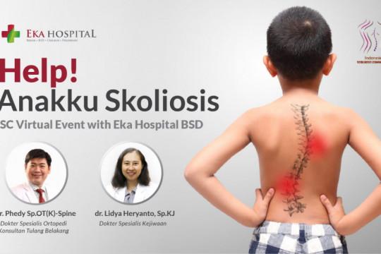 Eka Hospital gandeng ISC bentuk peduli komunitas pasien skoliosis