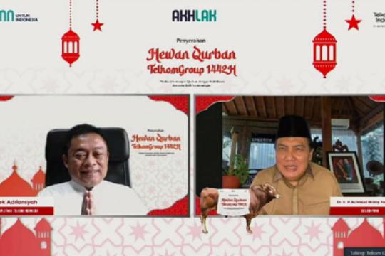 Idul Adha, Telkom salurkan 800 hewan kurban di seluruh Indonesia