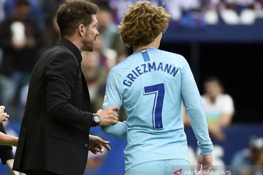 Presiden Atletico Madrid buka peluang pulangkan Antoine Griezmann