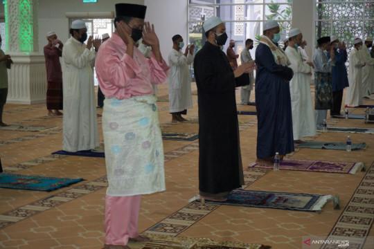 Shalat Idul Adha dilakukan dengan jamaah terbatas di Kuala Lumpur