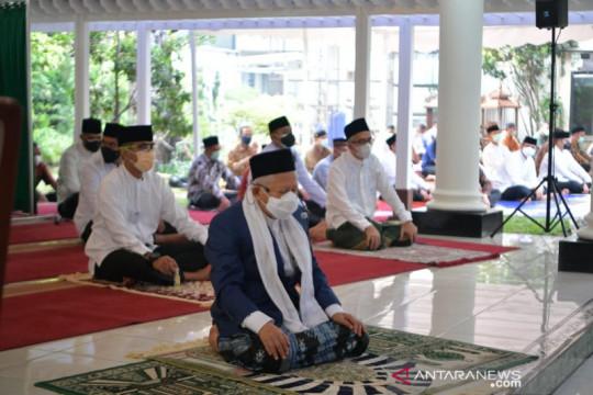 Wapres Salat Idul Adha di kediaman resmi