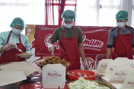 PDIP DKI buka dapur umum untuk bantu warga yang isoman