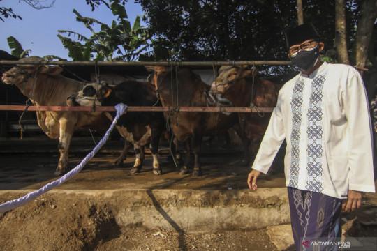 Sandiaga Uno ajak masyarakat bangkit dari pandemi di momen Idul Adha