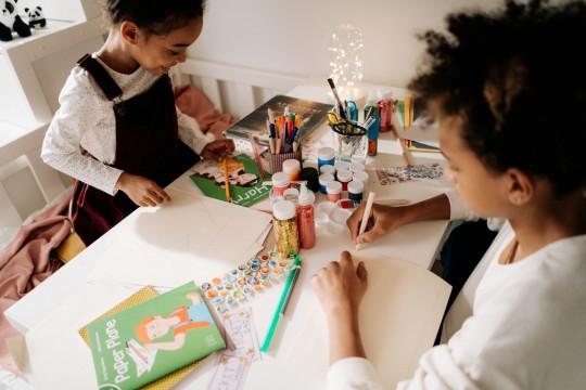 Kerajinan tangan, ide atasi kebosanan anak selama di rumah