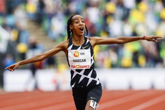 Sifan Hassan bersiap dominasi tiga nomor lari Olimpiade Tokyo