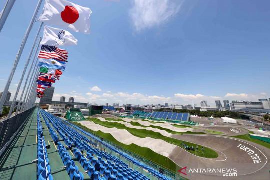 Favorit juara BMX Connor Fields alami kecelakaan di Olimpiade Tokyo