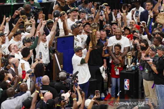 Milwaukee Bucks juara baru NBA