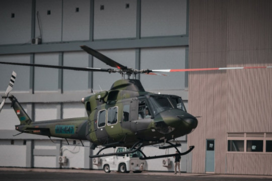 PTDI serahkan dua helikopter pesanan Kemenhan, untuk digunakan TNI AD