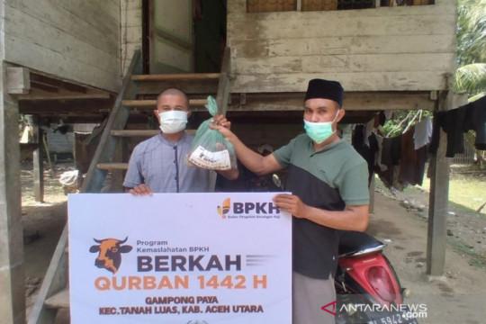 NU Care-LAZISNU dan BPKH salurkan daging kurban di wilayah 3T