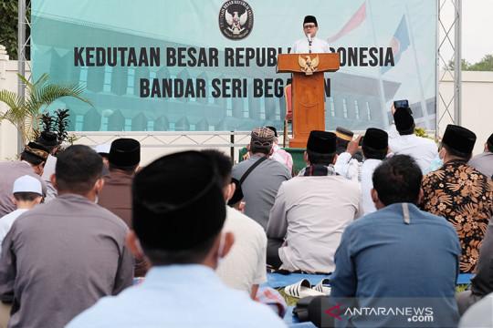 COVID-19 di Brunei terkendali, KBRI gelar shalat Idul Adha