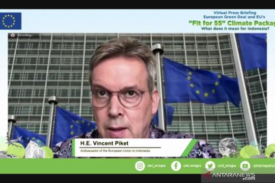 EU luncurkan 'Fit for 55', Eropa menuju netral iklim 2050