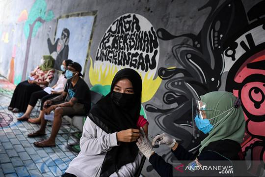Pemerintah gencarkan tes di area padat penduduk di wilayah aglomerasi