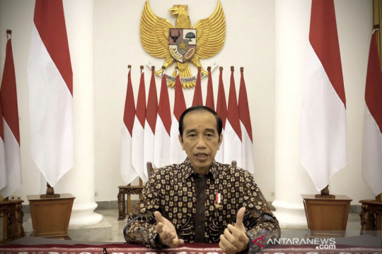 IWD nilai pandemi atau tidak Jokowi pemimpin tepat bagi Indonesia