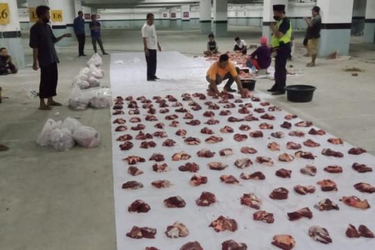 Distan Mataram temukan 31 kasus cacing hati pada hewan kurban
