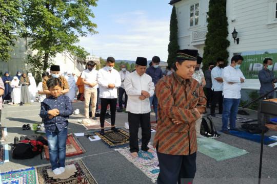 KBRI Oslo gelar shalat Idul Adha berjamaah, terapkan prokes