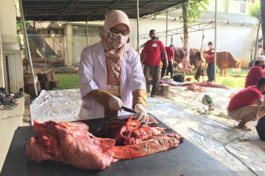 Sudin KPKP Jakpus musnahkan organ hewan kurban tak layak konsumsi