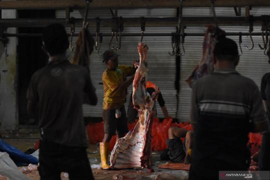Harga daging sapi has di Jakarta naik menjadi Rp135.135