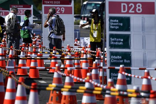 Enam hari Olimpiade berjalan, para atlet mulai meninggalkan Tokyo